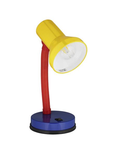 BRILLIANT Tischleuchte »Junior« rot/gelb/blau mit 40 W, Schirm-Ø x H: 10,7 x 30 cm, E27 ohne Leuchtmittel