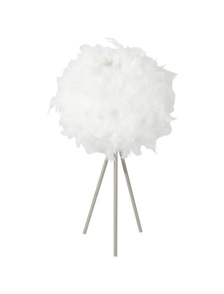 GLOBO LIGHTING Tischleuchte »KATUNGA« nickelfarben mit 40 W, H: 65 cm, E27 ohne Leuchtmittel