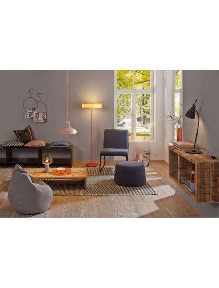 PAULMANN Tischleuchte kupferfarben/betongrau/klar mit 20 W, H: 35 cm, E27 ohne Leuchtmittel