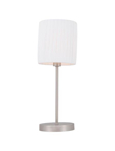 Tischleuchte »LA NUBE« nickelfarben mit 40 W, H: 45,5 cm,  ohne Leuchtmittel