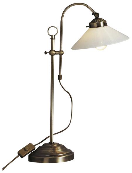 Tischleuchte »LANDLIFE« messingfarben mit 40 W, H: 55 cm, E14 ohne Leuchtmittel
