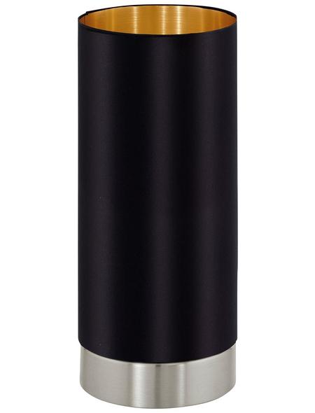 EGLO Tischleuchte »MASERLO« schwarz/goldfarben mit 40 W, H: 25,5 cm, E27 ohne Leuchtmittel