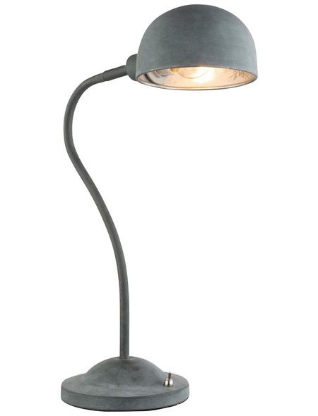 GLOBO LIGHTING Tischleuchte »MIRAM« silber-metallic mit 40 W, H: 45 cm, E14 ohne Leuchtmittel