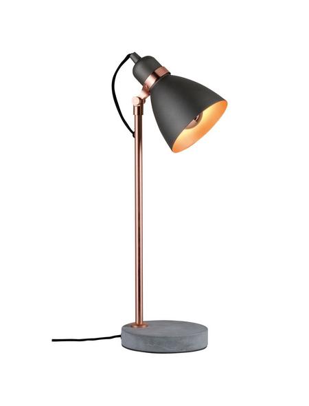 PAULMANN Tischleuchte »Neordic Orm« grau/kupferfarben/betongrau mit 20 W, H: 50 cm, E27 ohne Leuchtmittel