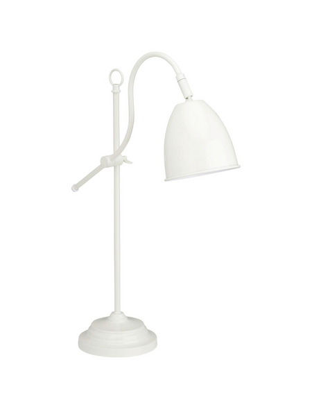 NÄVE Tischleuchte »Pastel Cap«, elfenbeinfarben, Höhe: 53 cm