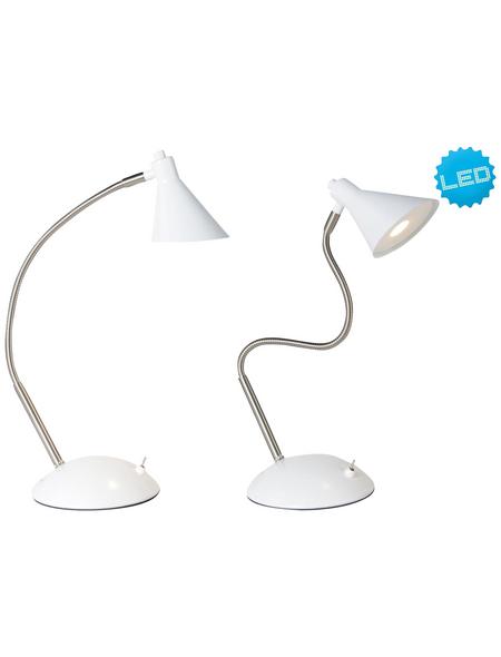 NÄVE Tischleuchte »Pastell«, weiß, Höhe: 38 cm