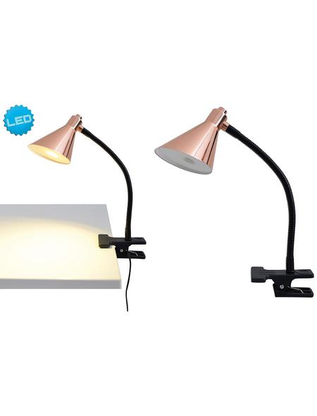 NÄVE Tischleuchte »Pinhead«, schwarz/kupferfarben, Höhe: 32 cm
