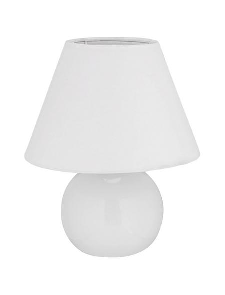 BRILLIANT Tischleuchte »Primo« Weiß mit 40 W, Schirm-Ø x H: 20 x 23 cm, E14 ohne Leuchtmittel