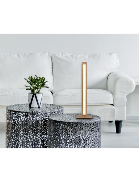 NÄVE Tischleuchte »Rovere«, natur, Höhe: 46  cm