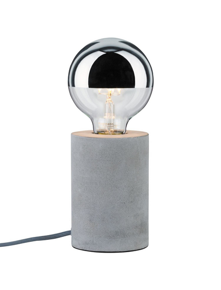 PAULMANN Tischleuchte »rund« mit 20 W, H: 13 cm, E27 ohne Leuchtmittel