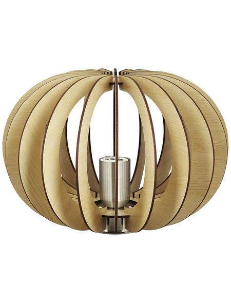 EGLO Tischleuchte »STELLATO« braun mit 60 W, H: 21 cm, E27 ohne Leuchtmittel