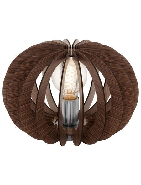 EGLO Tischleuchte »STELLATO« dunkelbraun mit 60 W, H: 21 cm, E27 ohne Leuchtmittel