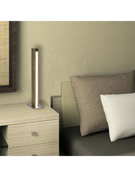 NÄVE Tischleuchte »Straight«, 12  W, braun, Höhe: 51  cm