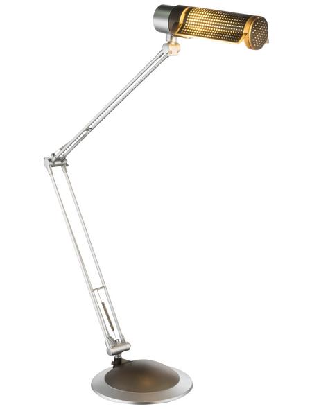 GLOBO LIGHTING Tischleuchte »SYTH« silberfarben/schwarz mit 20 W, H: 100 cm, E27 ohne Leuchtmittel