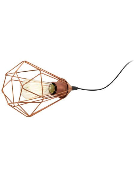 EGLO Tischleuchte »TARBES« kupferfarben mit 60 W, H: 26,5 cm, E27 ohne Leuchtmittel