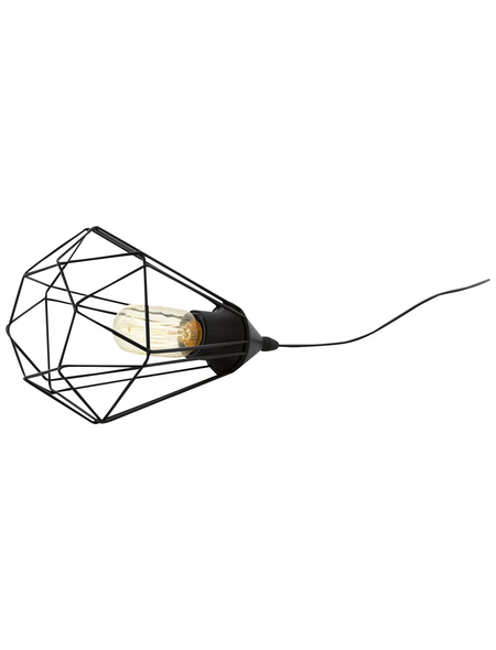 EGLO Tischleuchte »TARBES« schwarz mit 60 W, H: 26,5 cm, E27 ohne Leuchtmittel