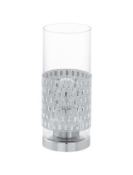 EGLO Tischleuchte »TORVISCO« chromfarben mit 60 W, H: 27,5 cm, E27 ohne Leuchtmittel