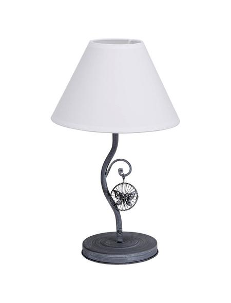 NÄVE Tischleuchte »Vintage« Weiß mit 40 W, Schirm-Ø x H: 20 x 33 cm, E14 ohne Leuchtmittel