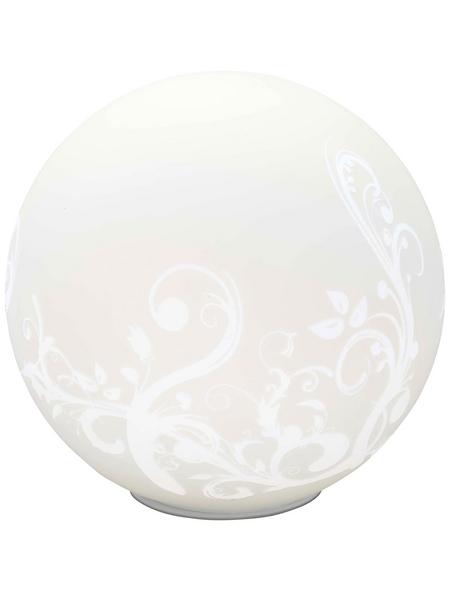 BRILLIANT Tischleuchte Weiß mit 60 W, H: 25 cm, E27 ohne Leuchtmittel