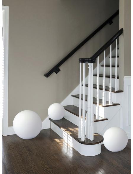 Tischleuchte Weiß mit 60 W, H: 30 cm, E27 ohne Leuchtmittel