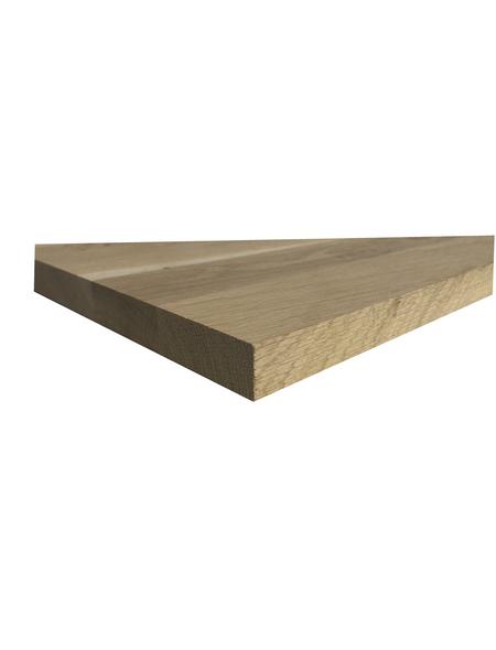 Jürgens Holzprodukte GmbH Tischplatte, wildeiche natur, Stärke: 28 mm