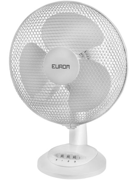 EUROM Tischventilator »Blanc«, 35 W, 3 Leistungsstufen, Ø: 30 cm