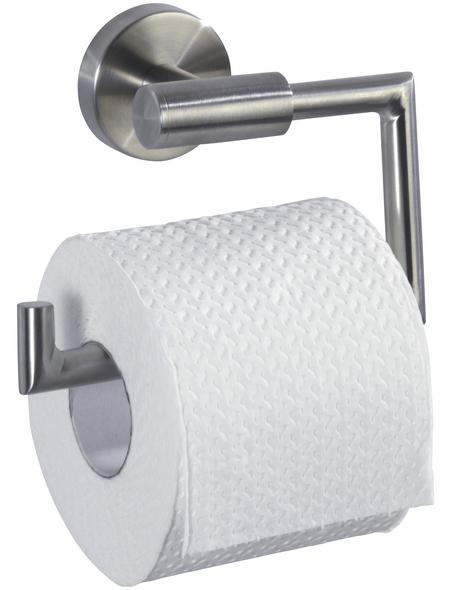 WENKO Toilettenpapierhalter »Bosio«, silberfarben