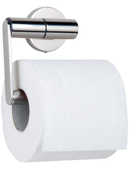 TIGER Toilettenpapierhalter »Boston«, BxHxT: 13,7 x 10,8 x 6,3 cm, edelstahlfarben
