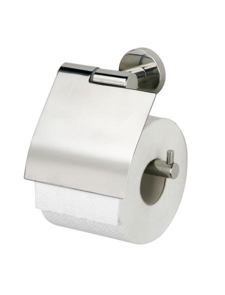 TIGER Toilettenpapierhalter »Boston«, BxHxT: 13,7 x 14 x 6,3 cm, edelstahlfarben