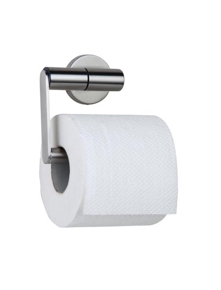 TIGER Toilettenpapierhalter »Boston«, BxHxT: 14 x 11 x 6 cm, edelstahlfarben