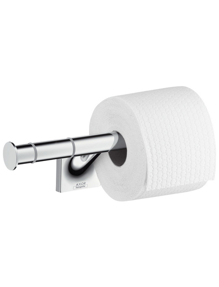 HANSGROHE Toilettenpapierhalter, chromfarben
