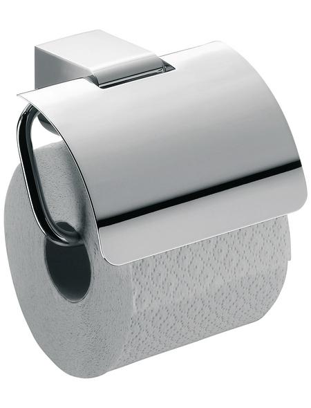 Toilettenpapierhalter, chromfarben