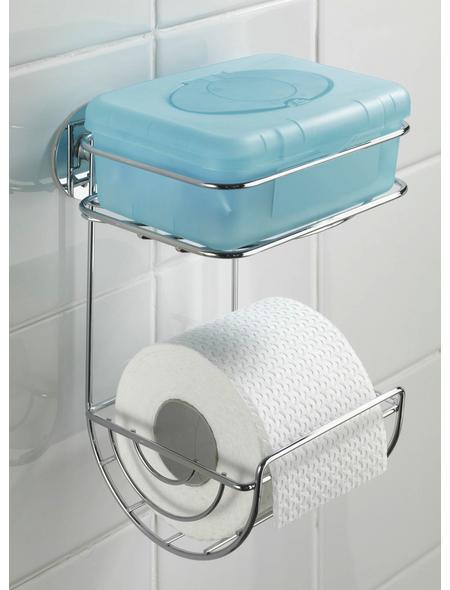 WENKO Toilettenpapierhalter, chromfarben
