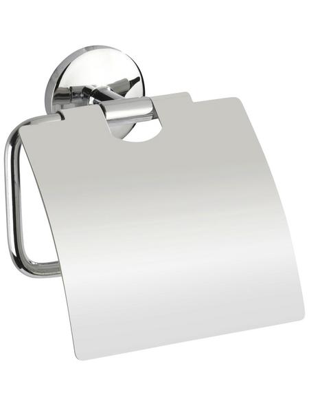 WENKO Toilettenpapierhalter »Cuba«, H x B x T: 13,5 x 13,5 x 4 cm, chromfarben