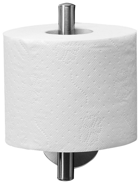 FACKELMANN Toilettenpapierhalter »Fusion«, edelstahlfarben