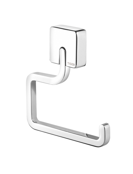 TIGER Toilettenpapierhalter »Impuls«, BxHxT: 13,5 x 15 x 1,8 cm, chromfarben