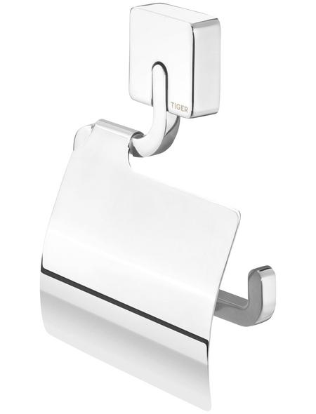 TIGER Toilettenpapierhalter »Impuls«, BxHxT: 13,5 x 18 x 2,2 cm, chromfarben
