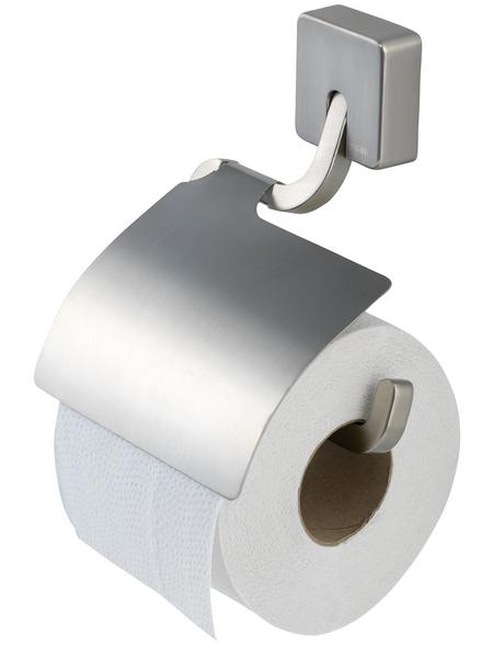 TIGER Toilettenpapierhalter »Impuls«, BxHxT: 13,5 x 18 x 2,2 cm, edelstahlfarben
