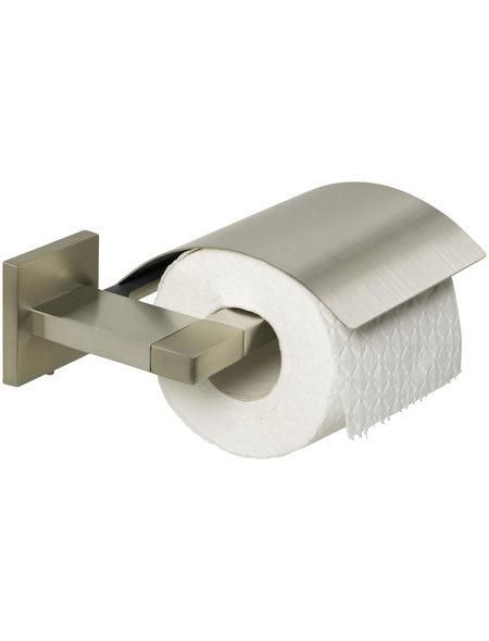 TIGER Toilettenpapierhalter »Items«, BxHxT: 17,1 x 5,2 x 13,2 cm, edelstahlfarben
