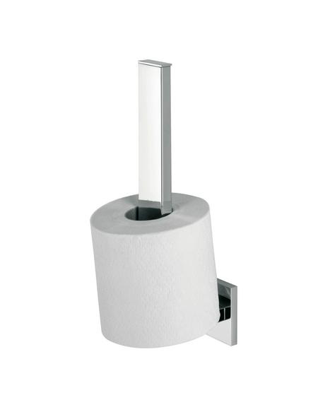 TIGER Toilettenpapierhalter »Items«, BxHxT: 5 x 25,5 x 8 cm, chromfarben