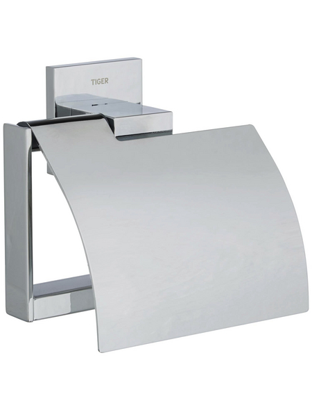 TIGER Toilettenpapierhalter »ITEMS«, chromfarben