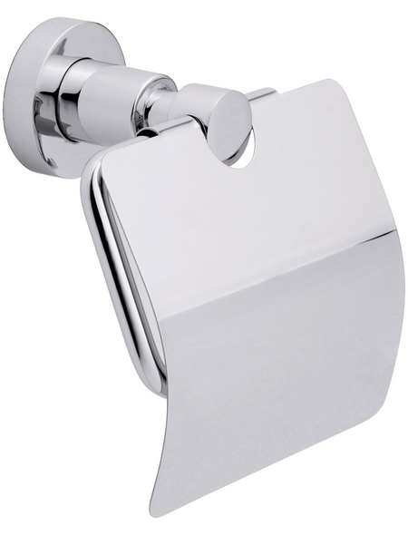 TESA Toilettenpapierhalter »Loxx«, Metall, metallfarben