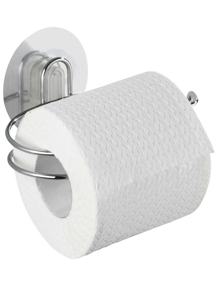 WENKO Toilettenpapierhalter »Osimo Stahl/Chrom«, chromfarben