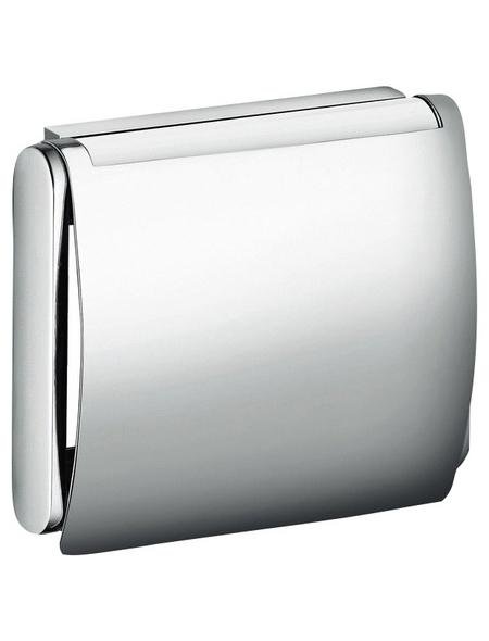 KEUCO Toilettenpapierhalter »Plan«, silberfarben