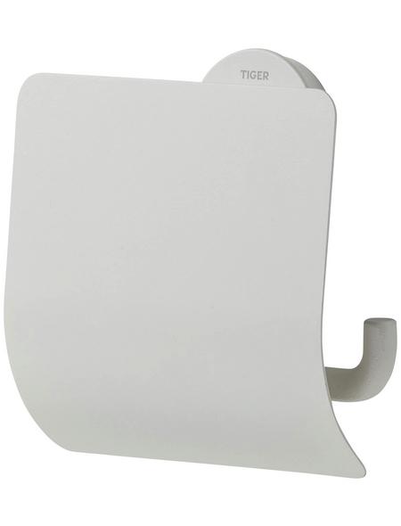 TIGER Toilettenpapierhalter »Urban«, BxHxT: 13,8 x 12,6 x 4,5 cm, weiß
