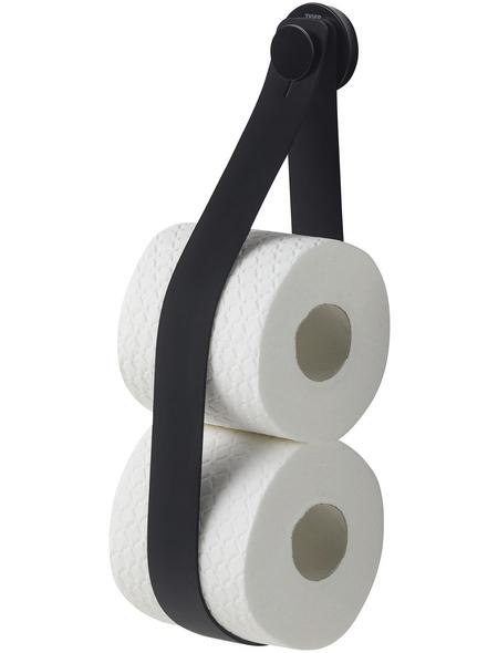 TIGER Toilettenpapierhalter »Urban«, BxHxT: 5 x 38 x 2,9 cm, schwarz
