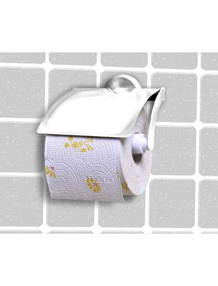 FACKELMANN Toilettenpapierhalter »Vision«, chromfarben