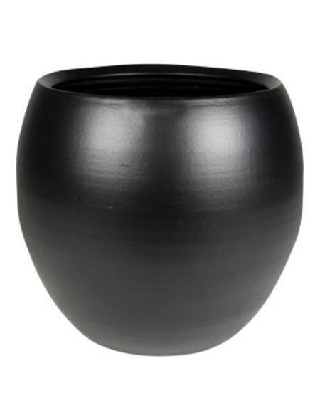 Topf »Cresta«, Breite: 28 cm, schwarz, Keramik