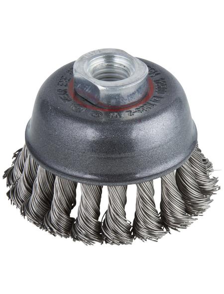 WOLFCRAFT Topf-Drahtbürste Ø 65 mm