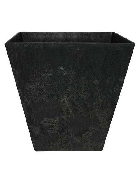 ARTSTONE Topf »Ella«, Breite: 45 cm, schwarz, Kunststoff
